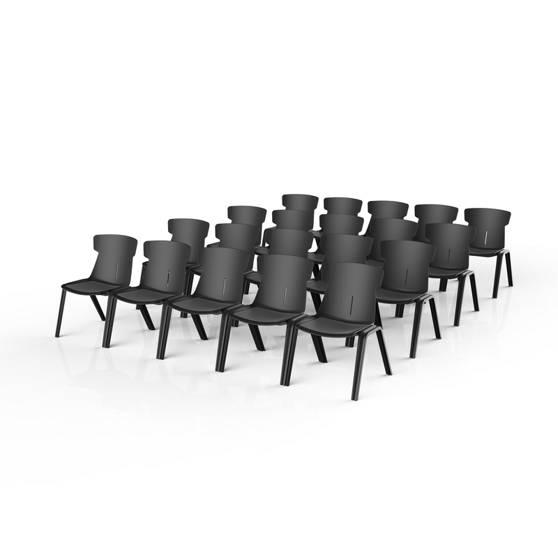 518 stacked chairs